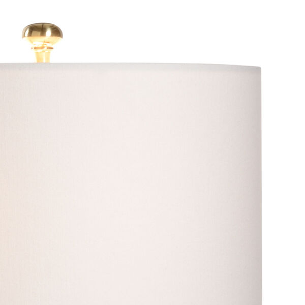 Cancello Cream and White One-Light Table Lamp, image 3
