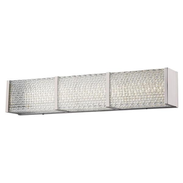 Cermack St. Brushed Nickel 32-Inch LED Bath Bar, image 1