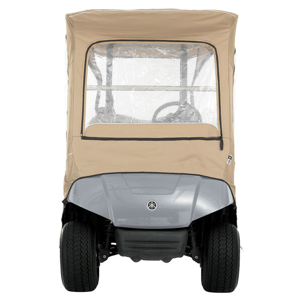 Cypress Khaki Yamaha Drive Golf Car Enclosure, image 5
