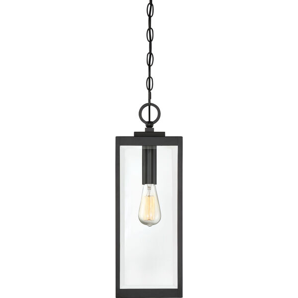 Westover Earth Black One-Light Outdoor Pendant, image 5