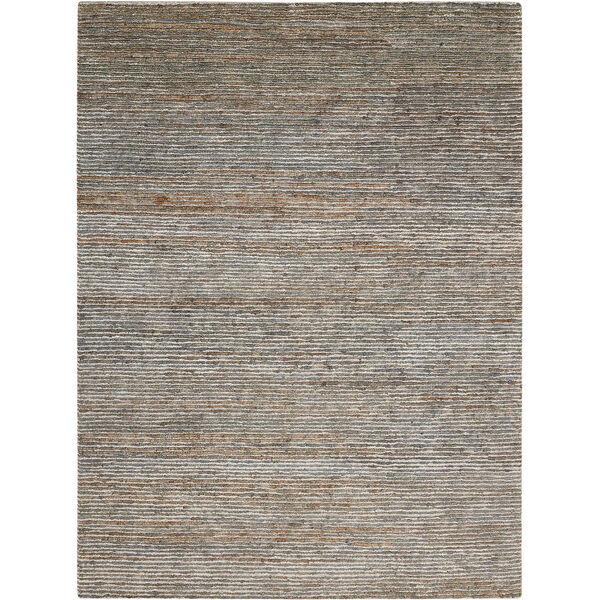 Mesa Indus Hematite Rectangular: 5 Ft. 6 In. x 7 Ft. 5 In. Rug, image 1