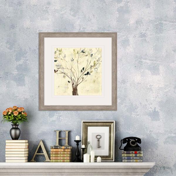 Trees of Blue II Neutral Framed Art, image 1