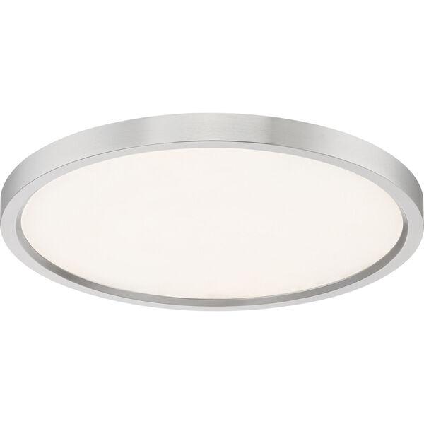 Outskirt Brushed Nickel 15-Inch LED Flush Mount, image 4