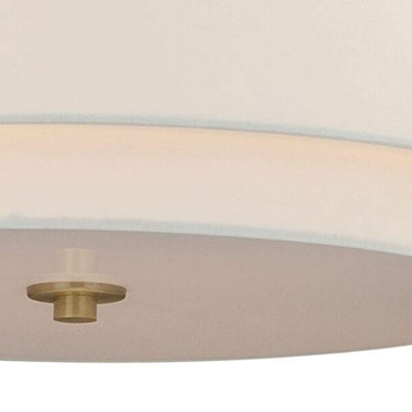 Burnaby Matte Brass Four-Light Pendant, image 4