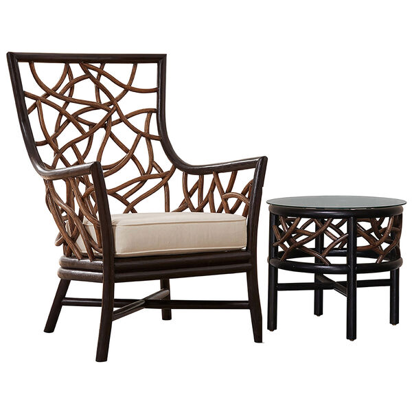 Trinidad Occasional Chair with End Table, image 1