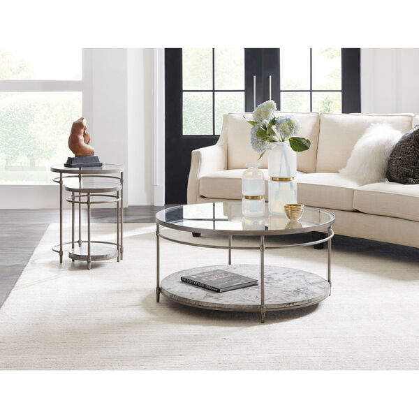 Champagne Nesting Table, image 3
