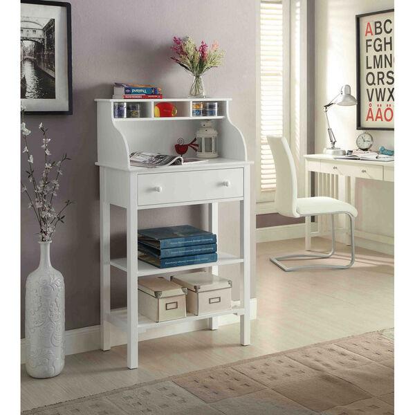 Designs2Go White Storage Desk, image 4