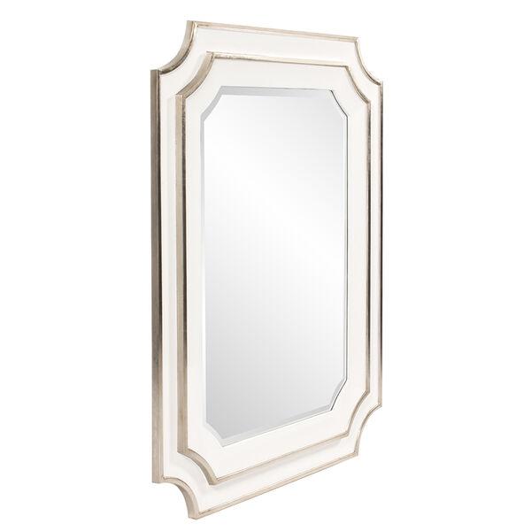 Dante Glossy White Mirror, image 3