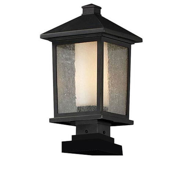 Mesa One-Light Large Oil Rubbed Bronze Outdoor Pier Light, image 1