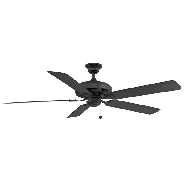 Edgewood Black 60-Inch Indoor Outdoor Ceiling Fan, image 1