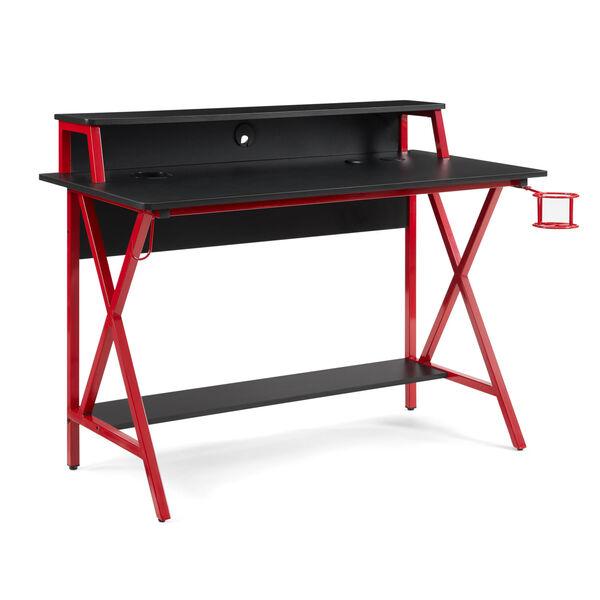 Ian Black Red Desk, image 1