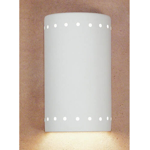 Great Delos Bisque Flush Wall Sconce, image 1