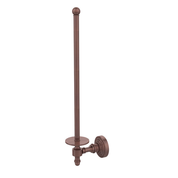 Antique Copper Wall-Mounted Paper Towel Holder, image 1