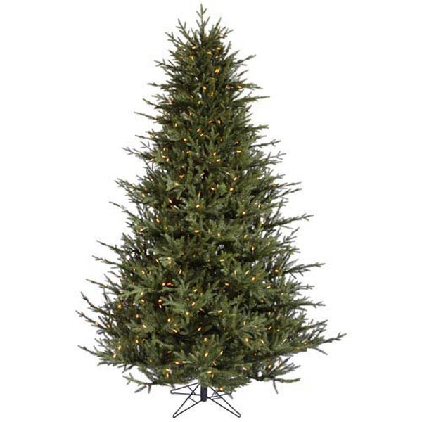 Itasca Frasier 7.5-Foot Christmas Tree w/750 Warm White LED Lights and 2454 Tips, image 1
