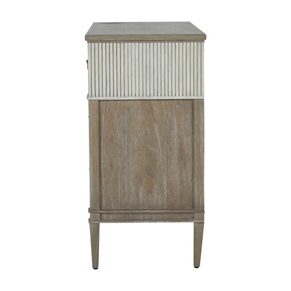 Winslet Sesame White and Cerused Gray Chest, image 5