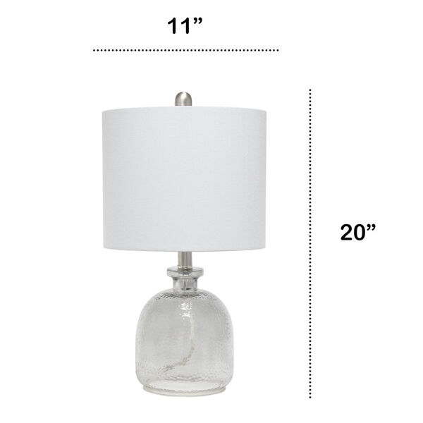 Cerise Smokey Gray One-Light Table Lamp, image 3