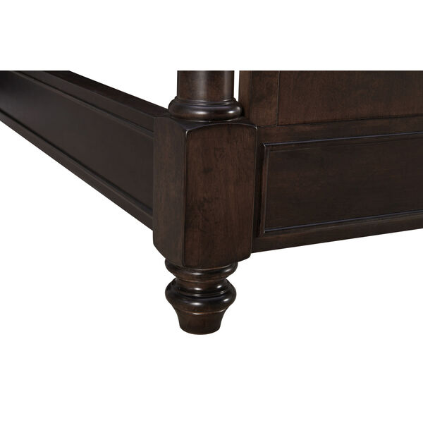 Lawrence Anabel Wood Dark Cherry King Bed, image 6