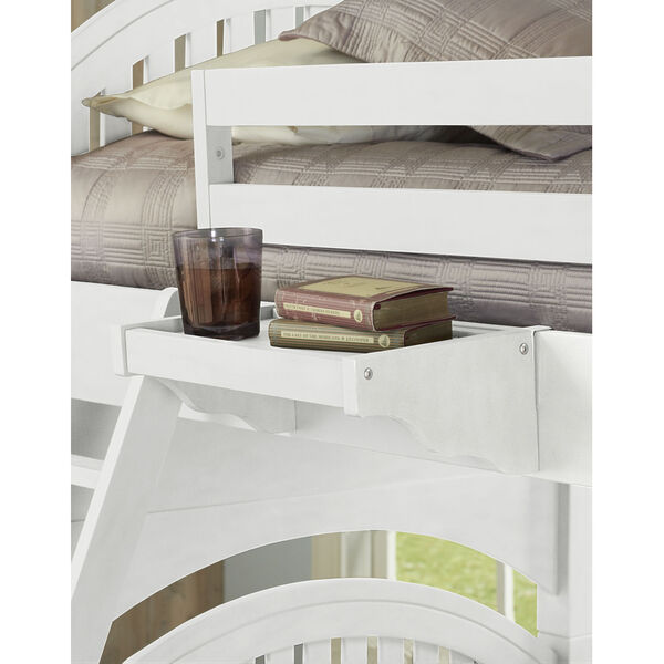 Lake House White Hanging Nightstand, image 1