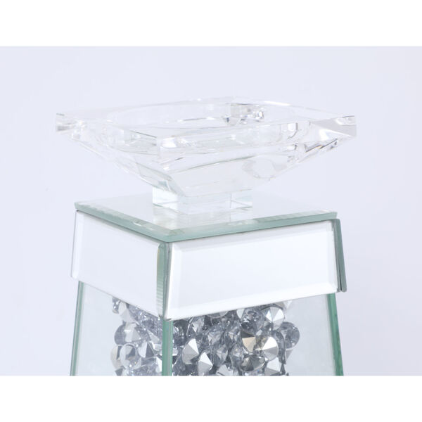 Sparkle Clear 5-Inch Crystal Candle Holder, image 6