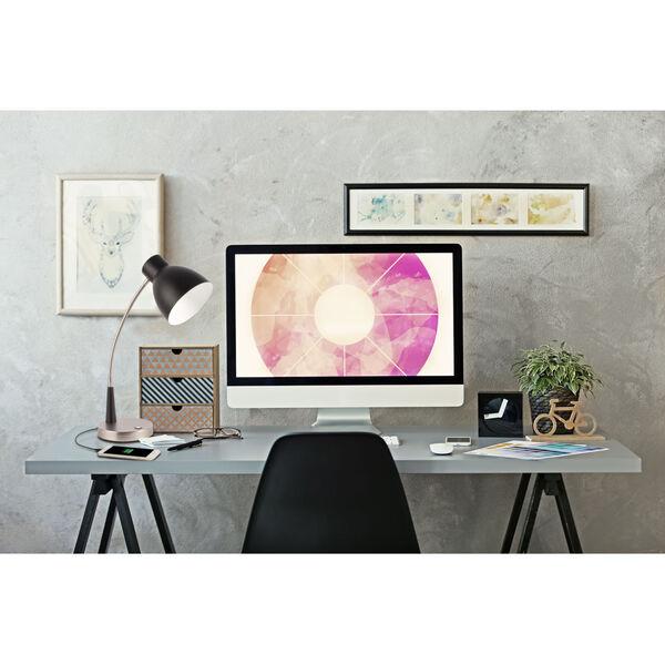 Adjust Matte Black LED Desk Lamp, image 5