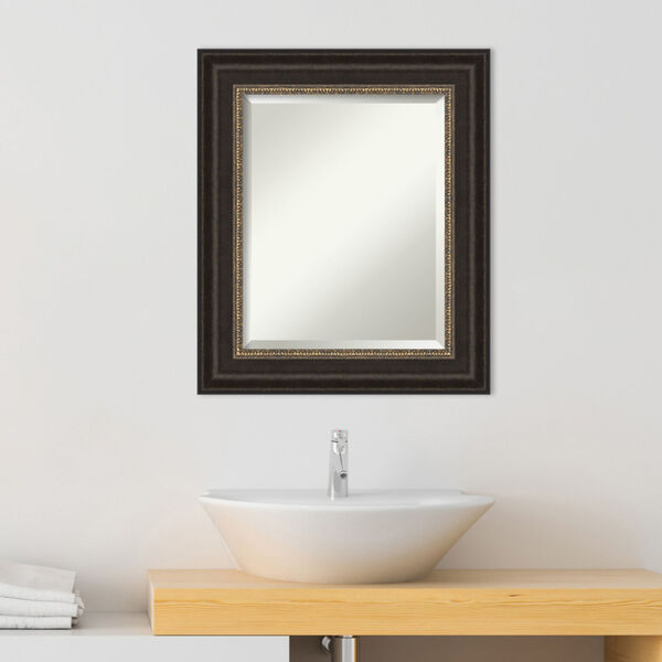 Bronze 22W X 26H-Inch Bathroom Vanity Wall Mirror, image 3