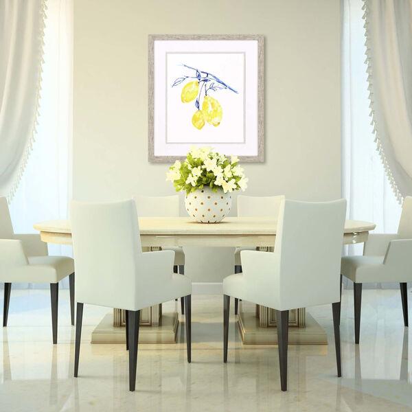 Watercolor Lemons II Yellow Framed Art, image 1