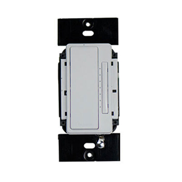 White In-Wall Tru-Universal RF Dimmer, image 1
