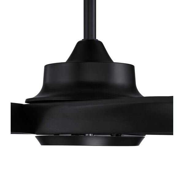 Captivate Flat Black 52-Inch Ceiling Fan, image 3