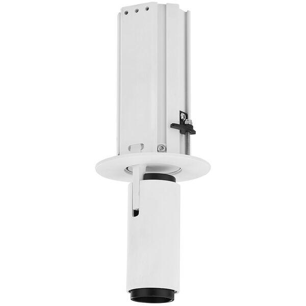 Telescopica White Six-Inch Adjustable LED Recessed Spotlight, image 4