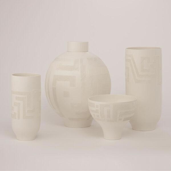 Studio A Home Matte White Small Chaco Vase, image 4