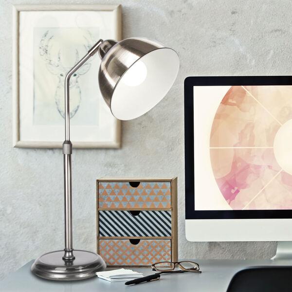 Covington Brushed Nickel LED Desk Lamp, image 5