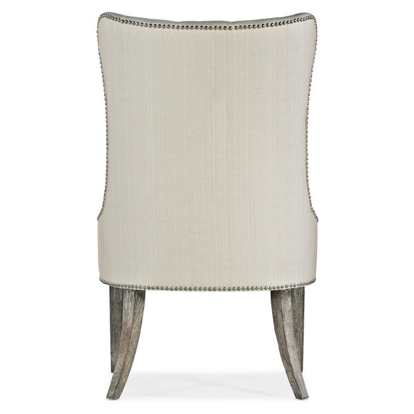 Sanctuary Light Wood Upholstered Chair, image 4