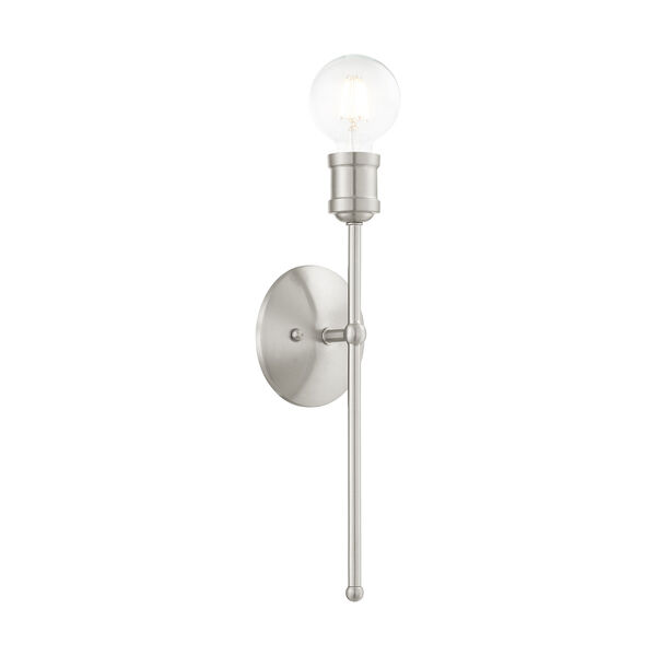 Lansdale Brushed Nickel One-Light  Wall Sconce, image 6