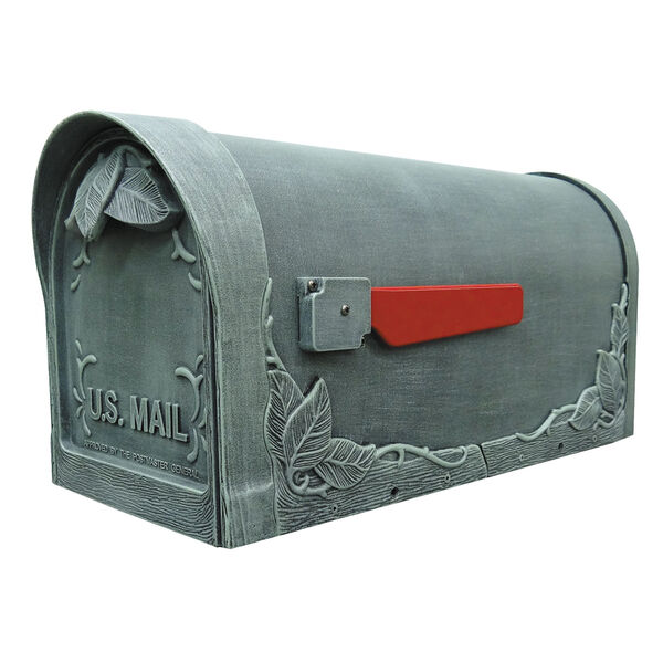 Floral Curbside Mailbox, image 1