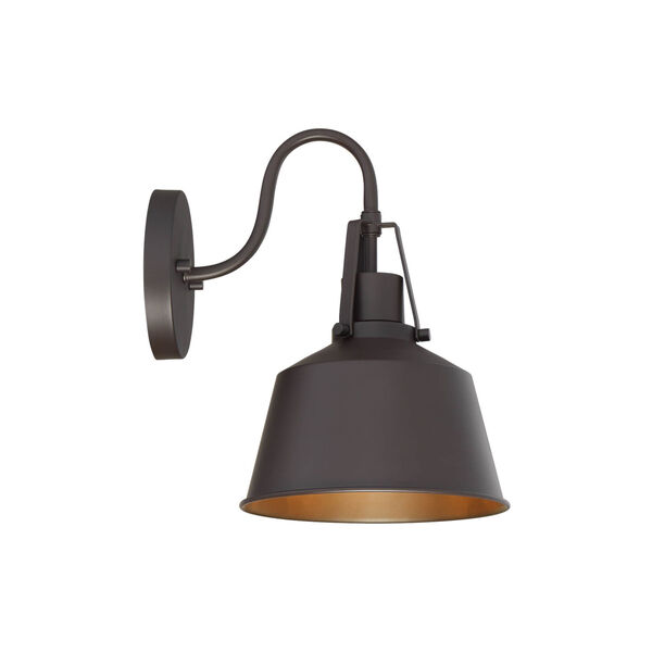 Lex Oil Rubbed Bronze Eight-Inch One-Light Outdoor Wall Sconce, image 3