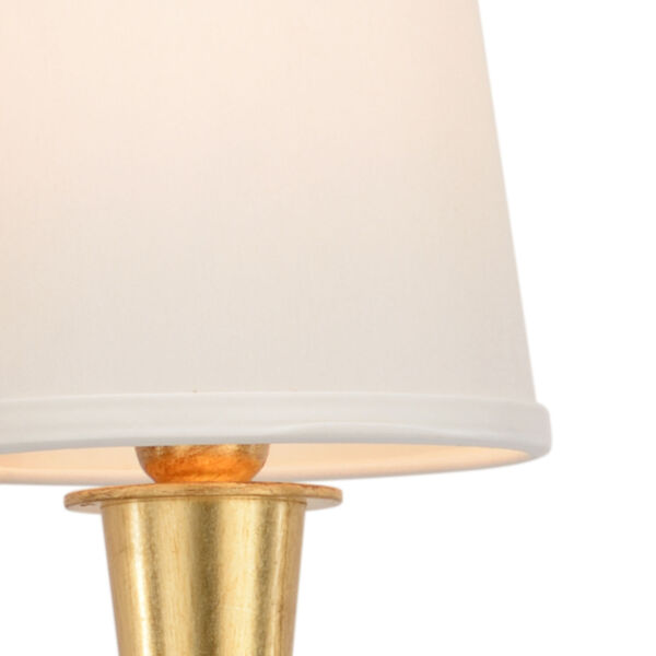Cavendish Antique Gold Two-Light Left Wall Sconce, image 2