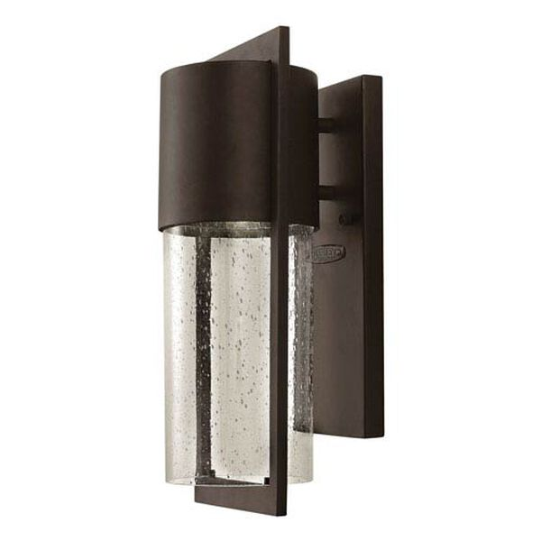 Brixton Bronze Six-Inch LED Outdoor Wall Mount, image 1