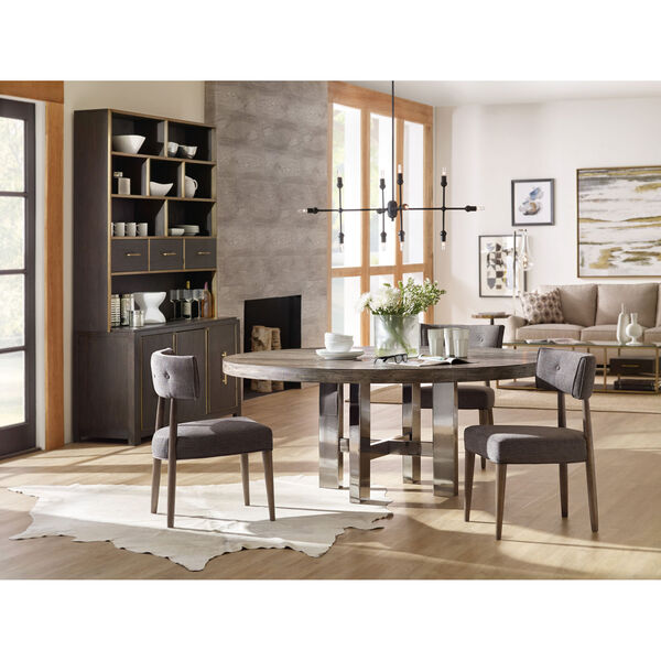 Curata Gray Upholstered Chair, image 3