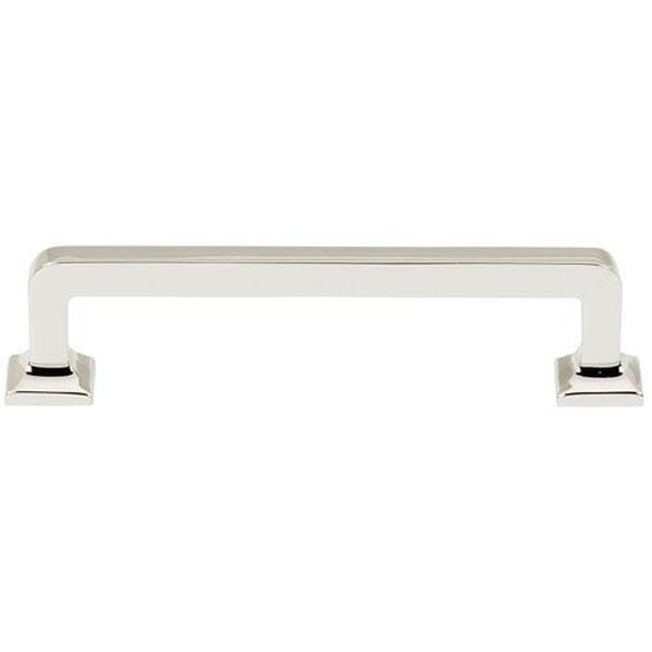 Polished Nickel 4-Inch Pull, image 1