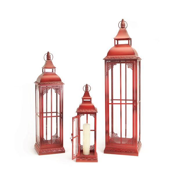 Red Lantern, Set of Three, image 1