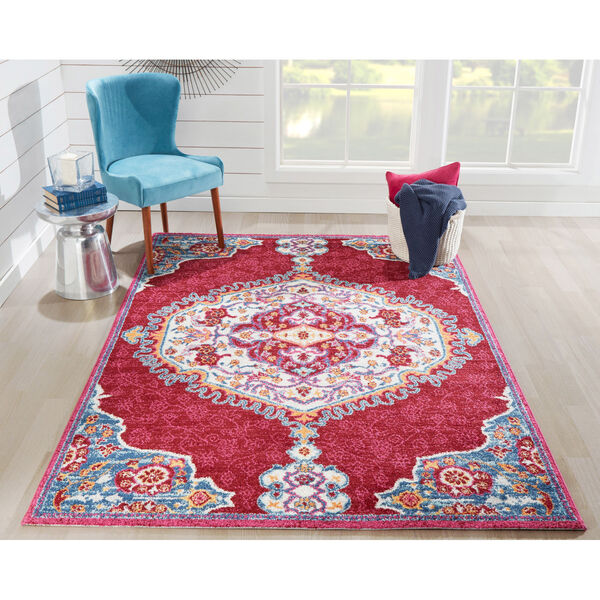 Haley Red Rectangular: 9 Ft. 3 In. x 12 Ft. 6 In. Rug, image 2