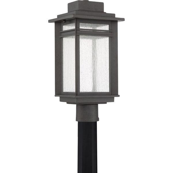 Beacon Stone Black LED Outdoor Post, image 2