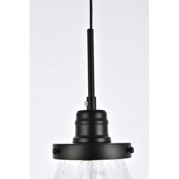 Lyle Black One-Light Plug-In Pendant, image 5