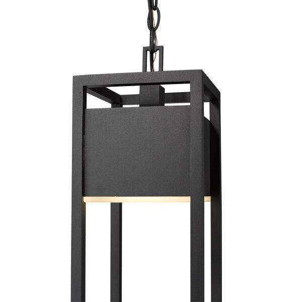 Barwick Black One-Light LED Outdoor Pendant, image 6