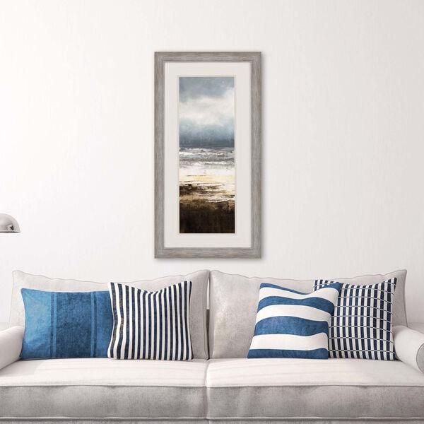 Oceanscape II Blue Framed Art, image 1