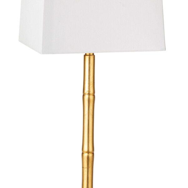 Sarina Gold Leaf One-Light Table Lamp, image 4