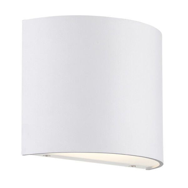Pocket White Three-Inch LED Wall Sconce, image 1