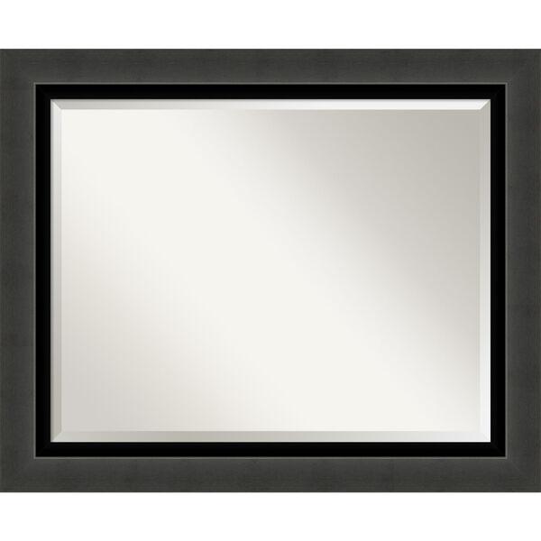Tuxedo Black 34W X 28H-Inch Bathroom Vanity Wall Mirror, image 1