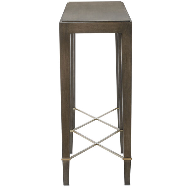 Verona Chanterelle Chanterelle and Champagne 76-Inch Table, image 4