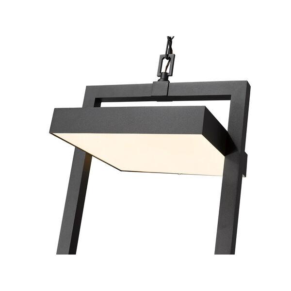 Luttrel Black One-Light LED Outdoor Pendant, image 6